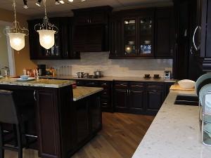 Chocolate Cherry Kitchen Cabinets