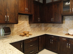 Espresso Shaker Kitchen Cabinets