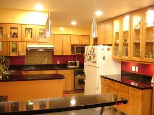 Honey Shaker Kitchen Cabinets